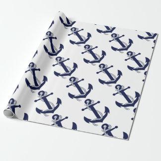 Het varen de Marine van het Anker Inpakpapier