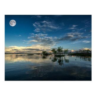 Het varen dichtbij Iquitos Briefkaart