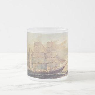 Het Varen van het Glas van de rots Matglas Koffiemok