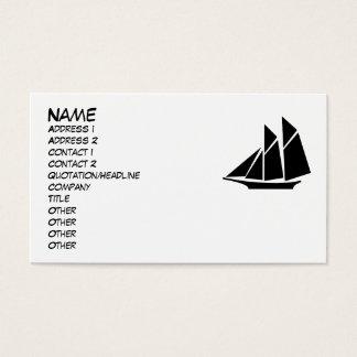 Het varende Visitekaartje van de Boot Visitekaartjes