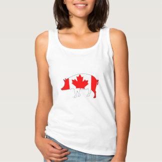 Het Varken van Canada Tanktop