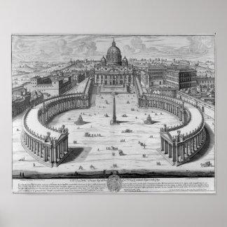Het Vatikaan, Rome Poster