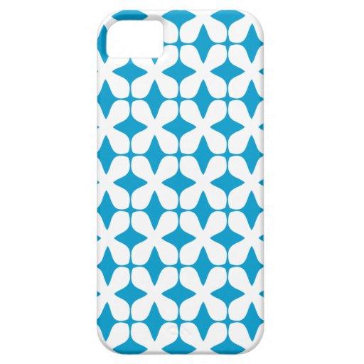 Het vector Hawaiiaanse Oceaan Blauwe Geval iPhone5 iPhone 5 Hoesjes