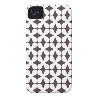 Het vector Patroon het Frans roostert Bruin Geval  iPhone 4 Hoesjes