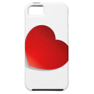 Het vector Symbool van het Hart iPhone 5 Case-Mate Hoesjes