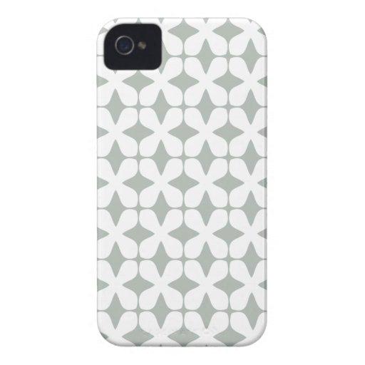 Het vector Zilveren Grijze Geval iPhone4S van het  iPhone 4 Hoesjes