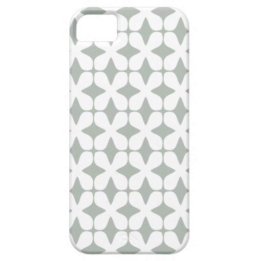 Het vector Zilveren Grijze Geval iPhone5 van het P Case-Mate iPhone 5 Hoesje