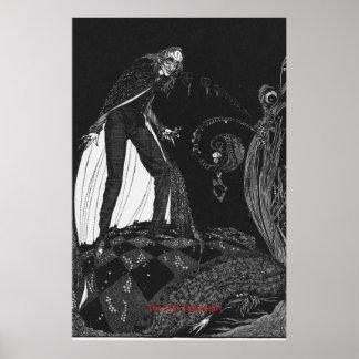 Het veelbetekenende Hart door Harry Clarke Poster