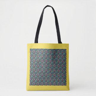 Het Veelkleurige Canvas tas van de zigzag