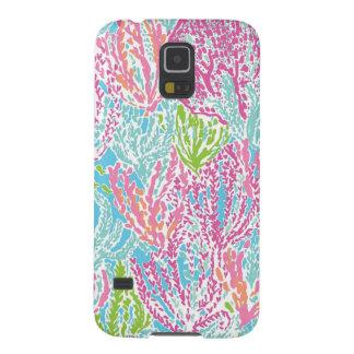 Het veelkleurige Hoesje van het Koraalrif Galaxy S5 Hoesje