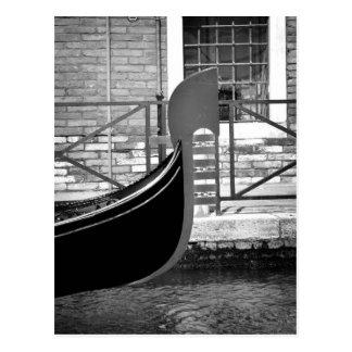 Het Venetiaanse Briefkaart van de Gondel