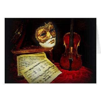 Het Venetiaanse collectie van Maskers - Muzikale Kaart