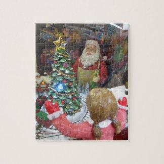 Het Venster van Kerstmis Puzzel