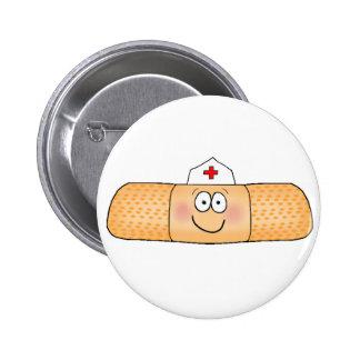 Het Verband van de Hulp van de Band van Whimsicla  Ronde Button 5,7 Cm