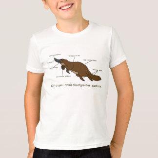Het verbazende Overhemd van Vogelbekdieren T Shirt