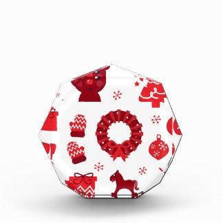 Het verbazende Rood van de Elementen van Kerstmis Acryl Prijs