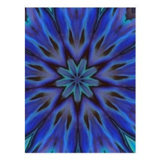 Het verblinden van Blauwe Abalone Moeder van Parel Briefkaart