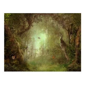 Het verborgen Briefkaart van het Bosje van de Vos