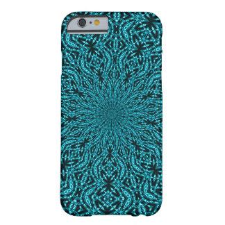 Het verfraaide Blauwe Patroon van de Draaikolk Barely There iPhone 6 Hoesje