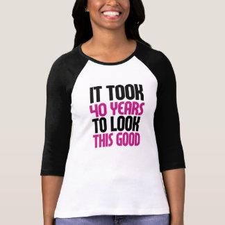Het vergde 40 jaar om dit goed te kijken t shirt