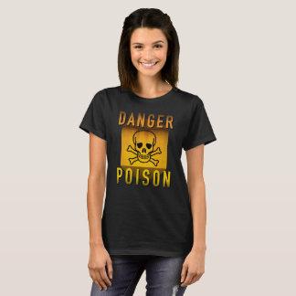 Het Vergift die van het gevaar Retro Atoomtijdperk T Shirt