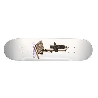 Het Vergrotingsapparaat van de foto. Goede Oude 18,7 Cm Mini Skateboard Deck