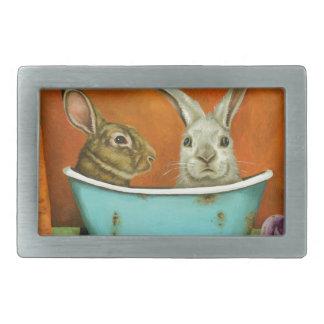 Het verhaal van Twee konijntjes Gespen