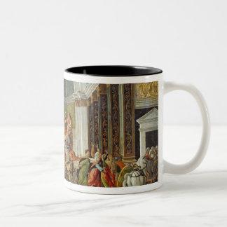 Het verhaal van Virginia, c.1500 Tweekleurige Koffiemok