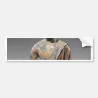 Het verkleurde Beeldhouwwerk van Boedha - de Bumpersticker