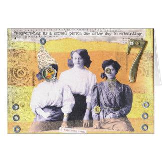 Het vermommen zich als Normale Dag van de Persoon Briefkaarten 0