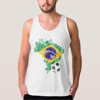 Het verontruste Voetbal van Brazilië T Shirt