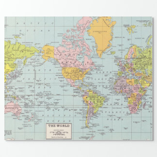 Het Verpakkende Document van de Kaart van de Inpakpapier