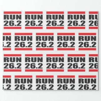Het Verpakkende Document van de marathon Cadeaupapier