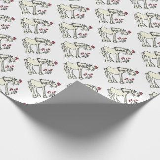 Het Verpakkende Document van het Paard van Inpakpapier