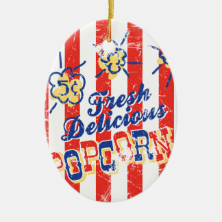 Het verse Heerlijke Ornament van de Popcorn -