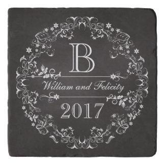 Het versierd BloemenJaar van het Huwelijk van het Trivet