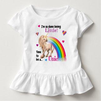 Het Verstoorde T-shirt van de eenhoorn Peuter • De