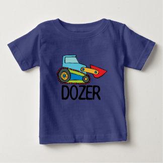 Het Vervoer van de Bulldozer van de bulldozer Baby T Shirts