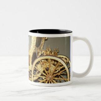 Het vervoer van de gondel van Keizerin Catherine Tweekleurige Koffiemok