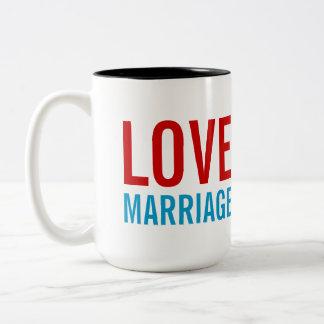 Het Vervoer van het Baby van het Huwelijk van de Tweekleurige Koffiemok