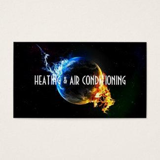 Het verwarmen en van de Airconditioning Visitekaartjes