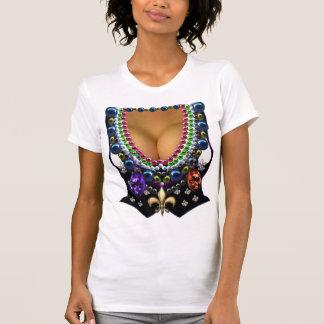 Het Vest van Gras van Mardi met de T-shirt van