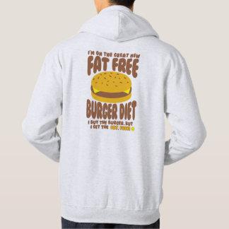 Het vette Vrije Dieet van de Hamburger Hoodie