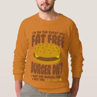 Het vette Vrije Dieet van de Hamburger Sweater