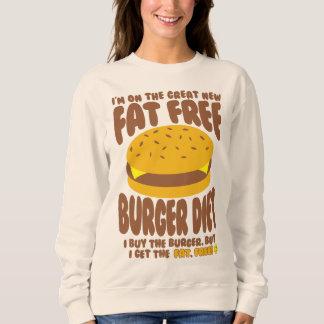 Het vette Vrije Dieet van de Hamburger Trui