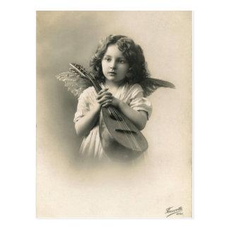 Het Victoriaans Briefkaart van de Engel van het