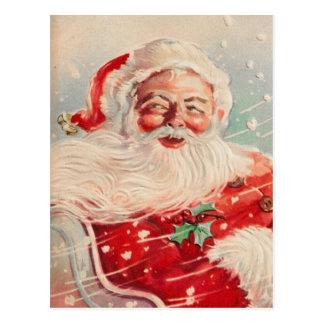 Het Victoriaans Briefkaart van de Kerstman