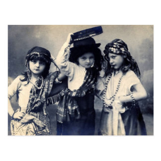 Het Victoriaans Briefkaart van de Kinderen van de