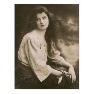Het Victoriaans Briefkaart van de Zigeuner