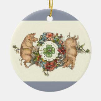 Het Victoriaans Ornament van Kerstmis - Twee